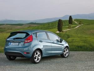 Ford Fiesta Arka