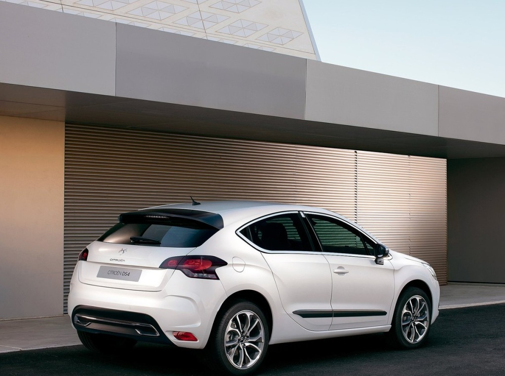 Citroen DS4 Arka