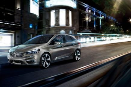Haber: BMW' den Aile Arabası Konsepti- ActiveTourer