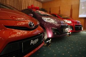 Toyota Aygo, Peugeot 107, Citroen C1 Üçlüsü