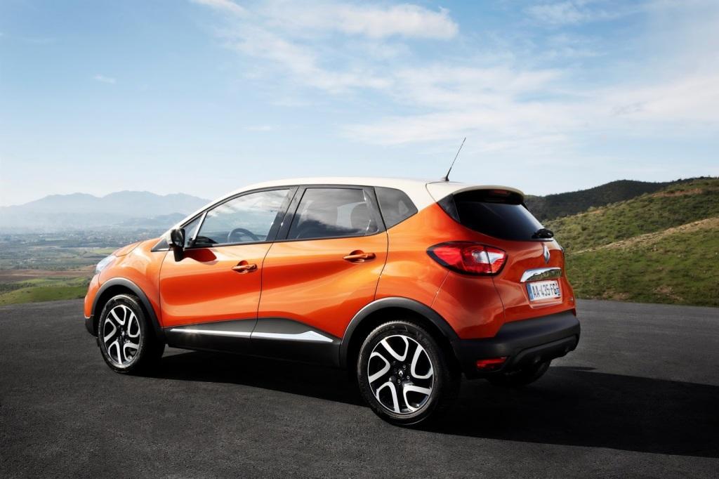 Renault Captur Arka