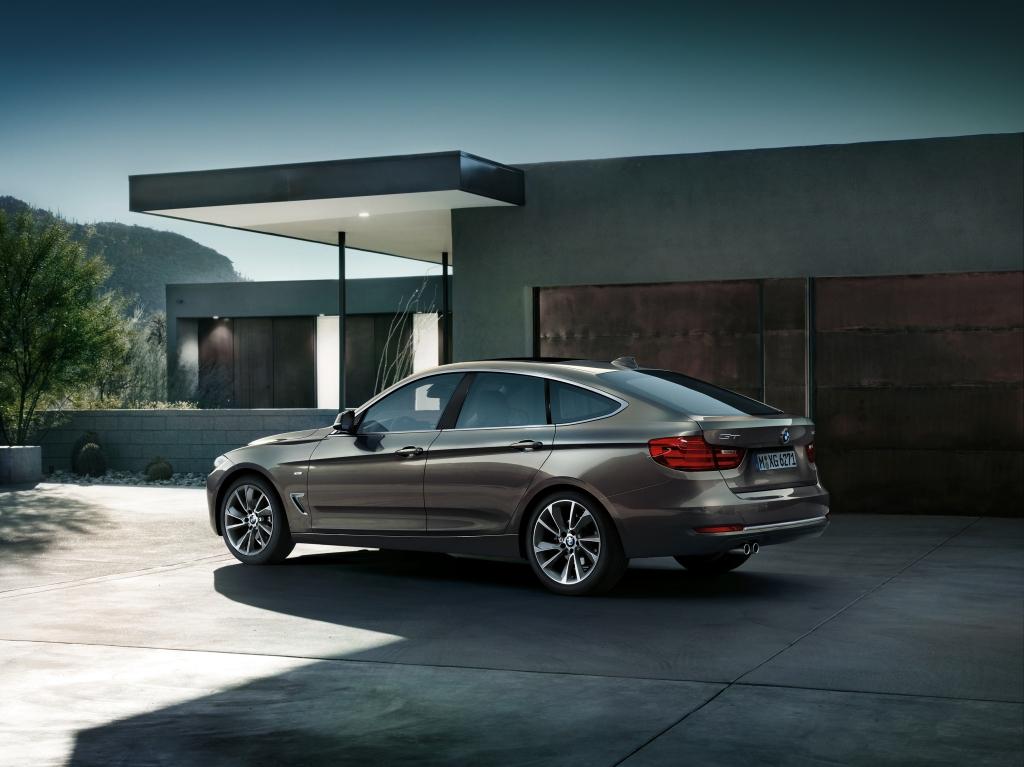 BMW 3 Serisi GT Arka