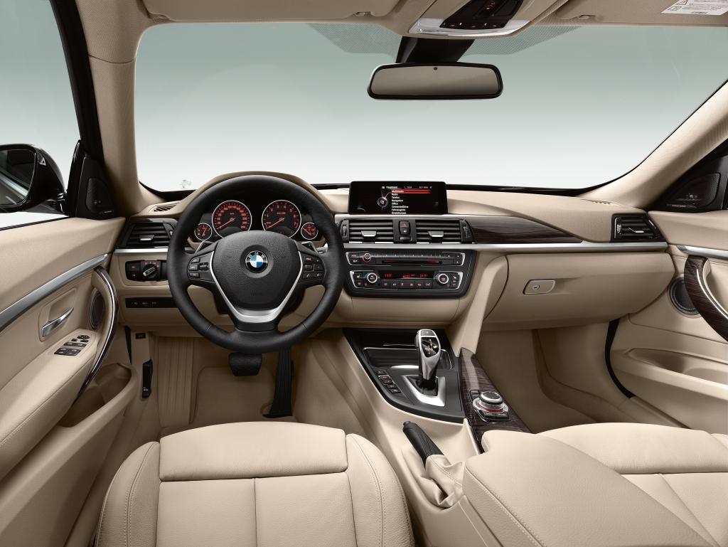 BMW 3 Serisi GT İç