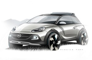 Opel Adam Rocks Konsept Ön Çapraz
