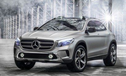 Mercedes GLA Konsept Ön