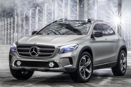 Konsept: Mercedes Kompakt Crossover Konsepti GLA' yıTanıttı