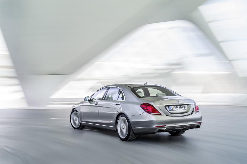 Mercedes-Benz S-Serisi Arka