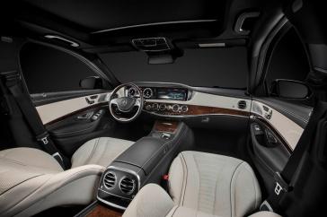 Mercedes-Benz S-Serisi İç