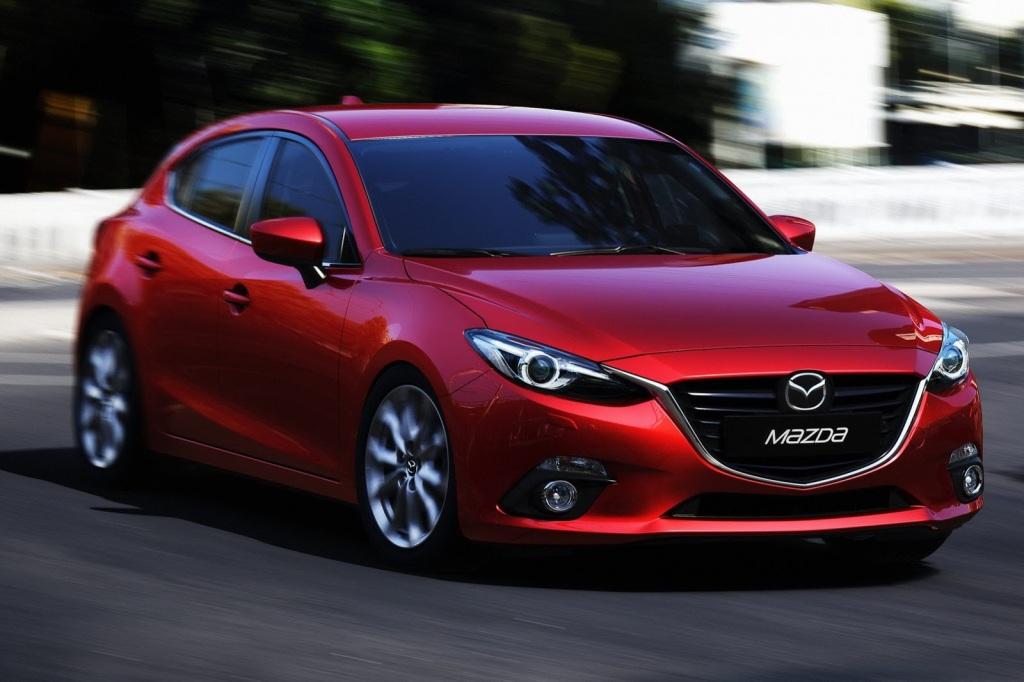 Mazda 3 Ön