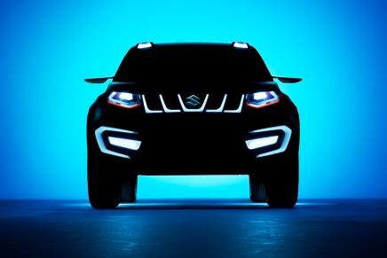 Haber: Suzuki' den Yeni Kompakt SUV Konsepti:iV-4