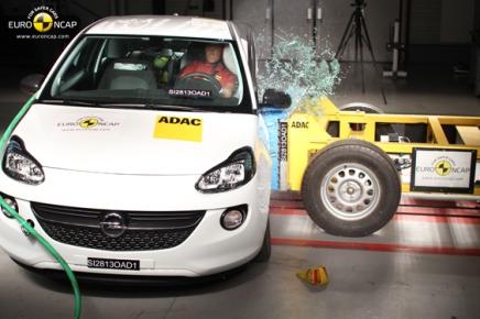 Haber: Euro NCAP Yeni Testi Sonuçları- Opel Adam Şaşırttı, Toyota CorollaSorunsuz
