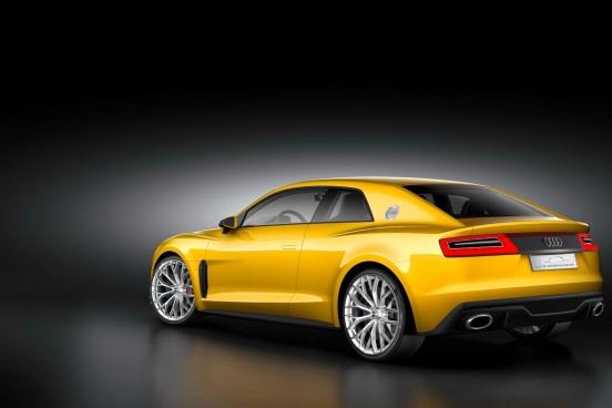 Audi Sport Quattro Konsepti Arka