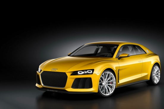 Audi Sport Quattro Konsepti Ön