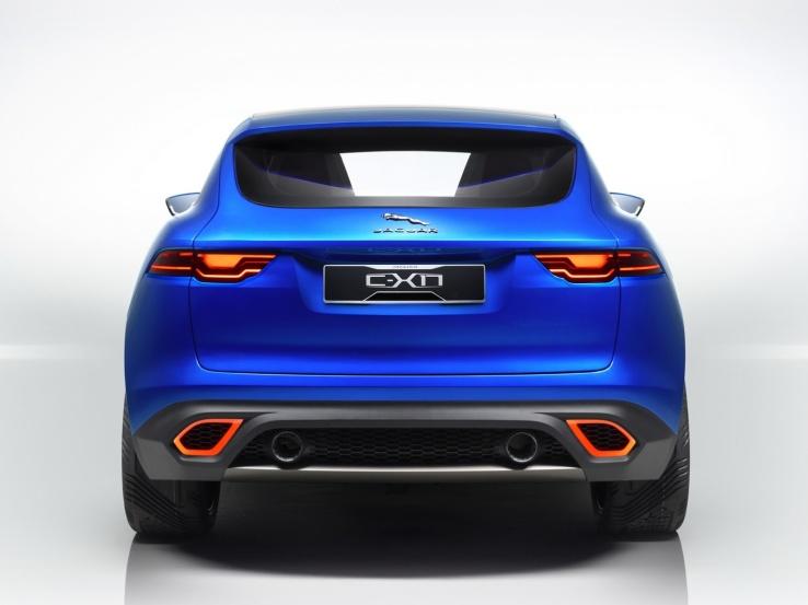 Jaguar C-X17 Sports Crossover Konsepti Arka