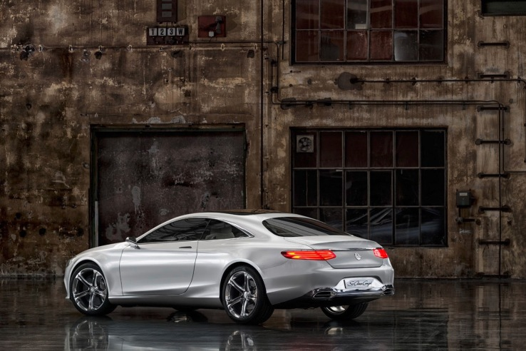 Mercedes-Benz S Class Coupe Arka