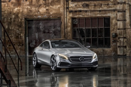 Haber: Mercedes Concept S-Class Coupe, CL' nin GeleceğiniGösteriyor