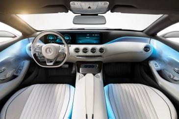 Mercedes-Benz S Class Coupe İç