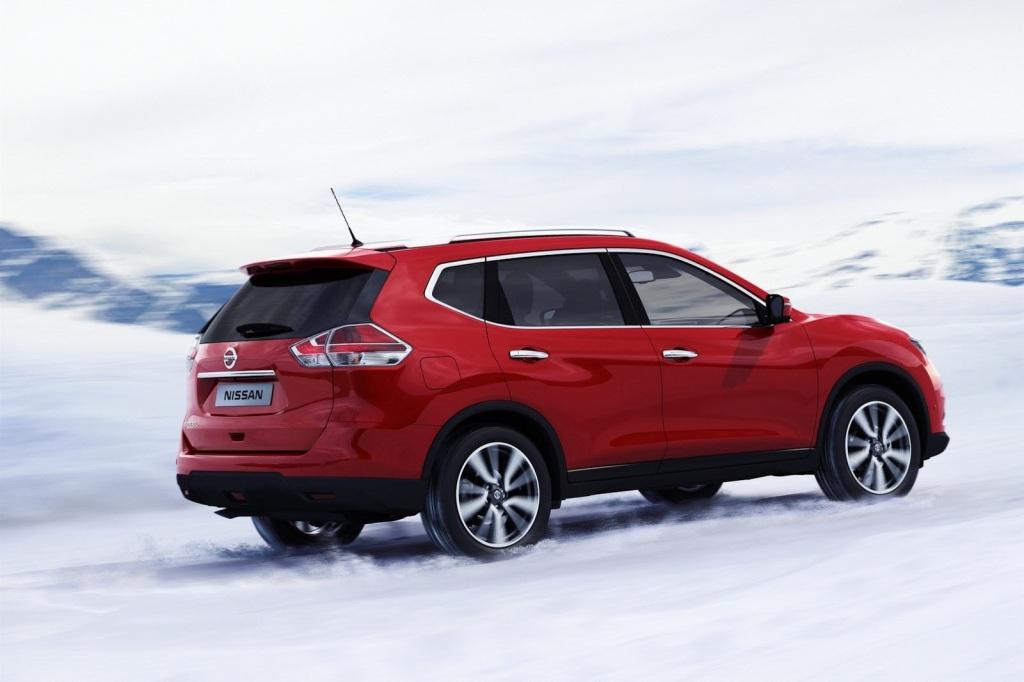 Nissan X-Trail Arka