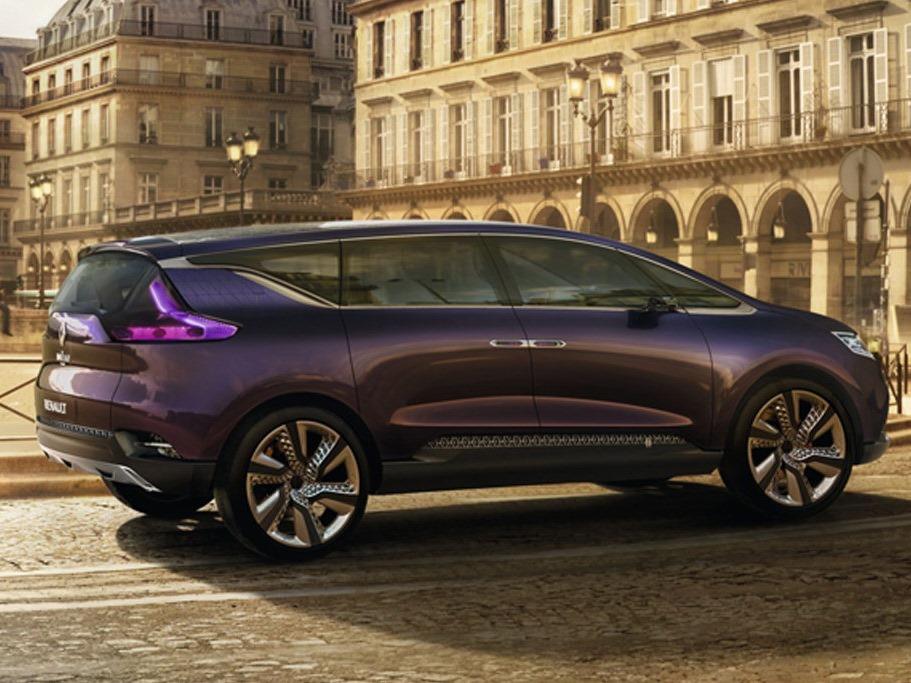 Renault Initiale Paris Konsepti Arka