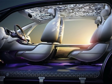 Renault Initiale Paris Konsepti İç 2