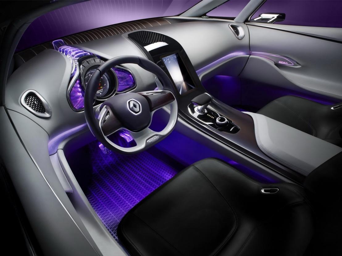 Renault Initiale Paris Konsepti İç