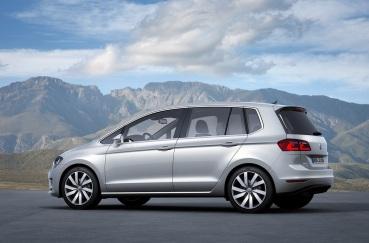 Volkswagen Golf Sportsvan Konsepti Arka
