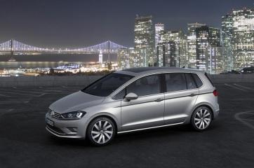 Volkswagen Golf Sportsvan Konsepti Ön