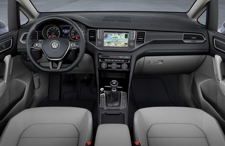 Volkswagen Golf Sportsvan Konsepti İç