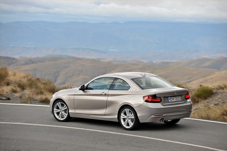 BMW 2-Serisi Coupe Arka