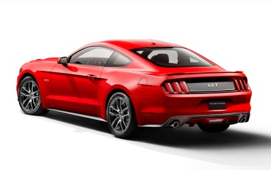 Ford Mustang Arka