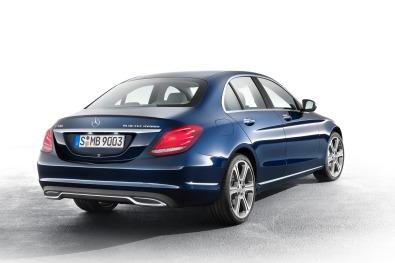 Mercedes-Benz C-Serisi Arka