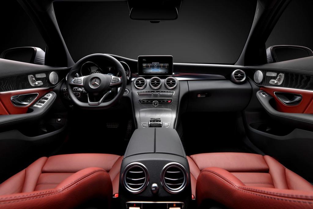 Mercedes-Benz C-Serisi AMG İç