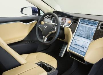 Tesla Model S İç