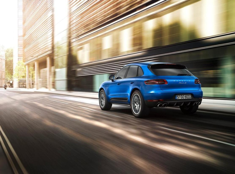 Porsche Macan Arka