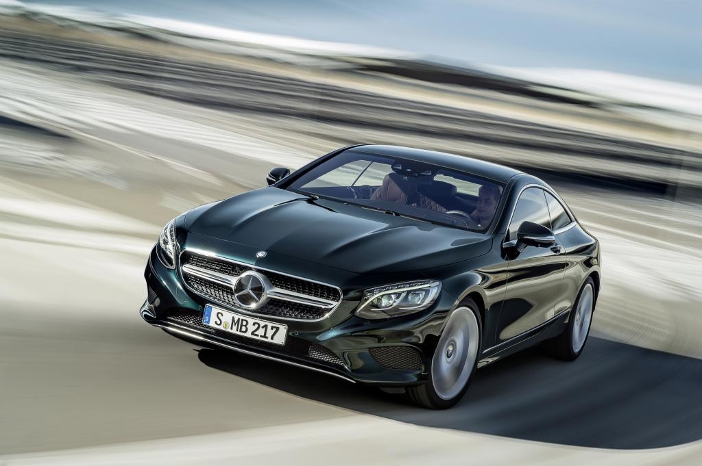 Mercedes-Benz S-Serisi Coupe Ön