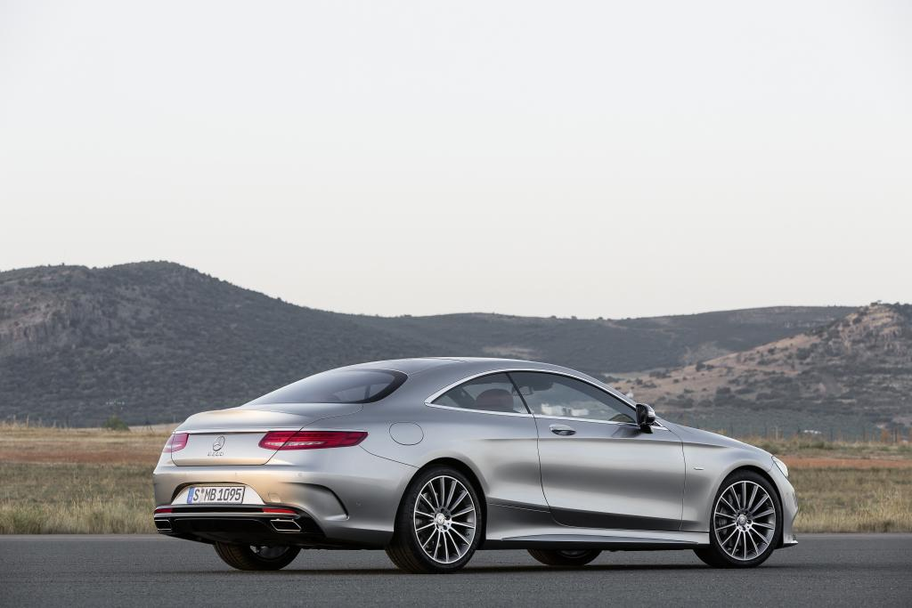 Mercedes-Benz S-Serisi Coupe Arka