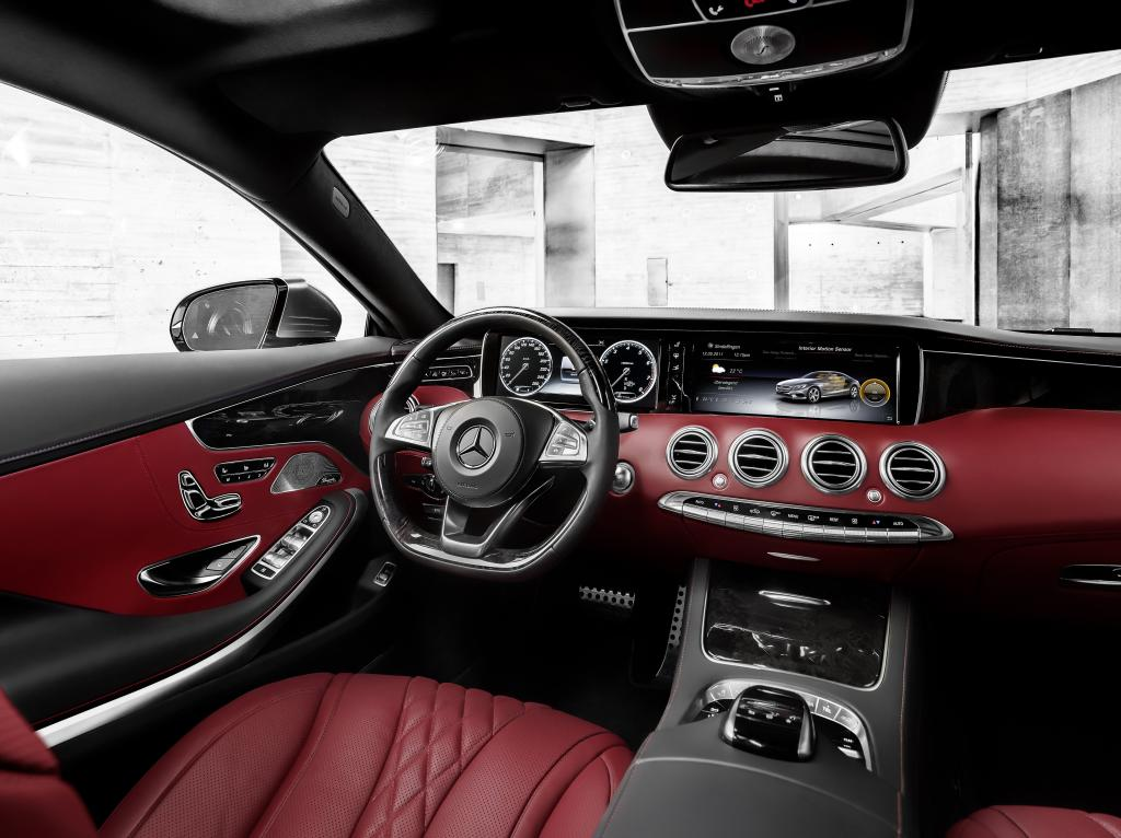 Mercedes-Benz S-Serisi Coupe İç