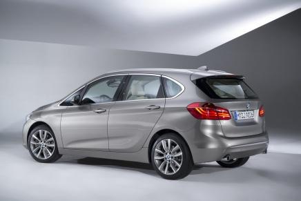 Haber: BMW' nin İlk Önden Çekişli Otomobili, İlk MPV' si- 2-Serisi ActiveTourer
