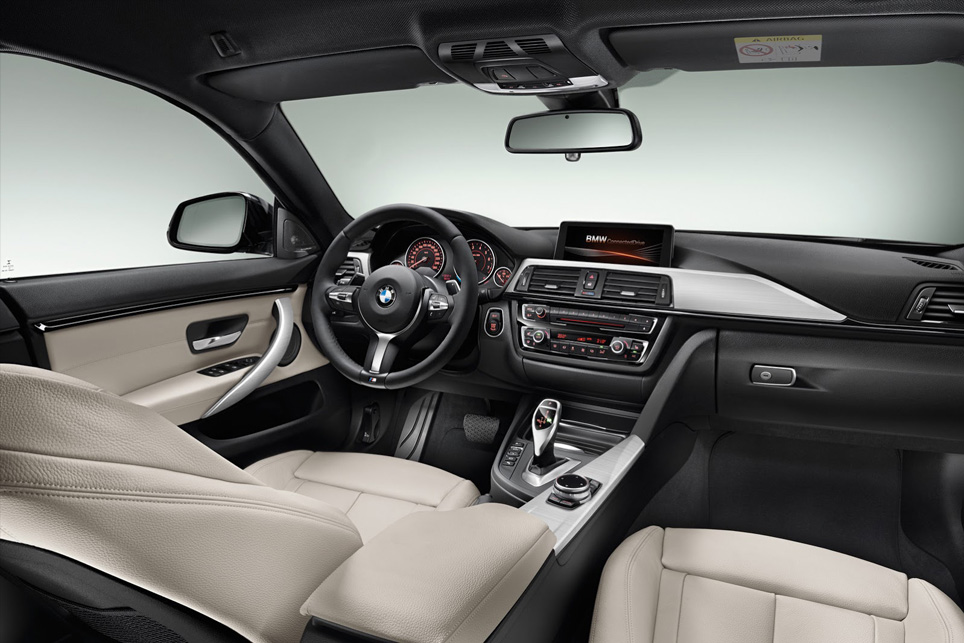 BMW 4-Serisi Gran Coupe İç