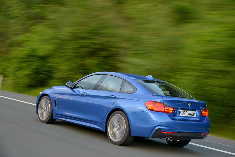 BMW 4-Serisi GranCoupe Arka