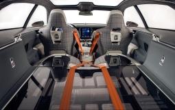 Volvo Concept Estate Bagaj