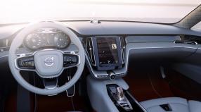 Volvo Concept Estate İç