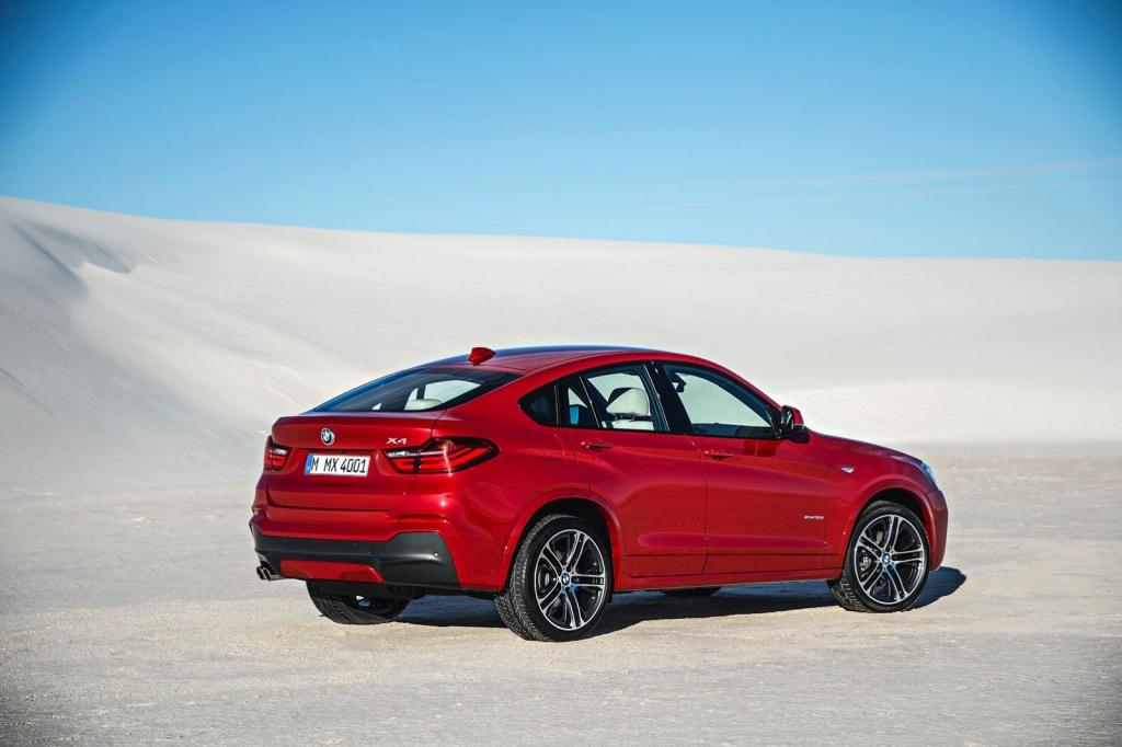 BMW X4 Arka