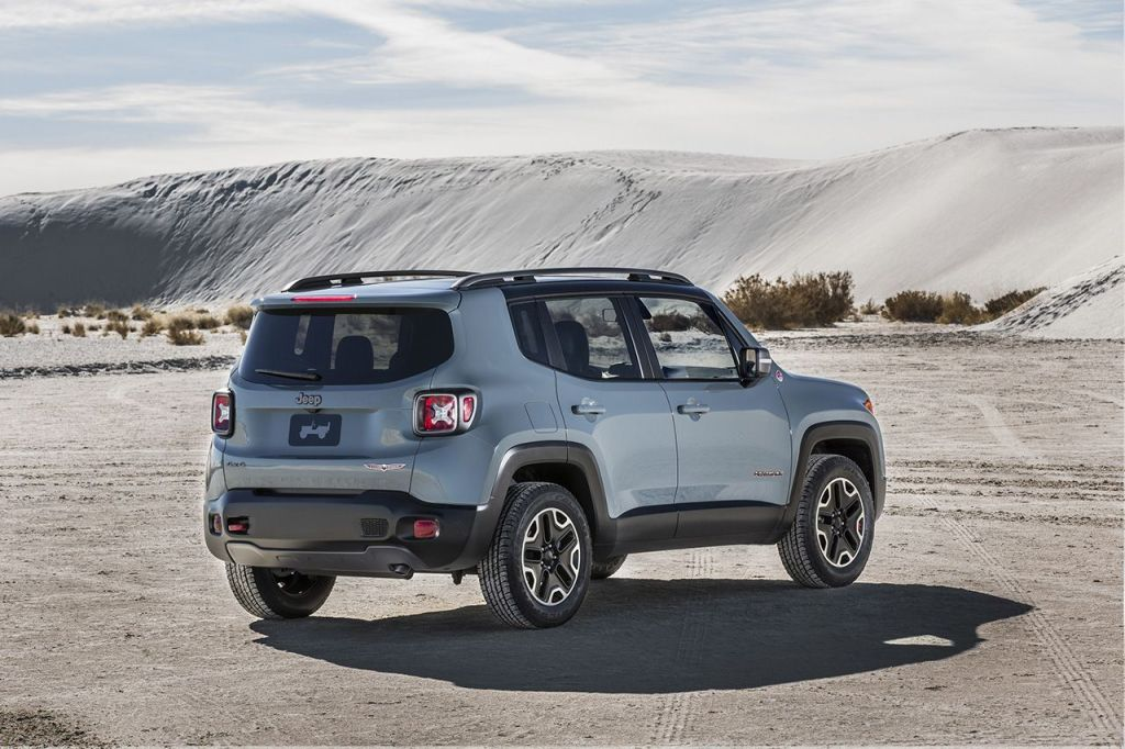 Jeep Renegade Arka
