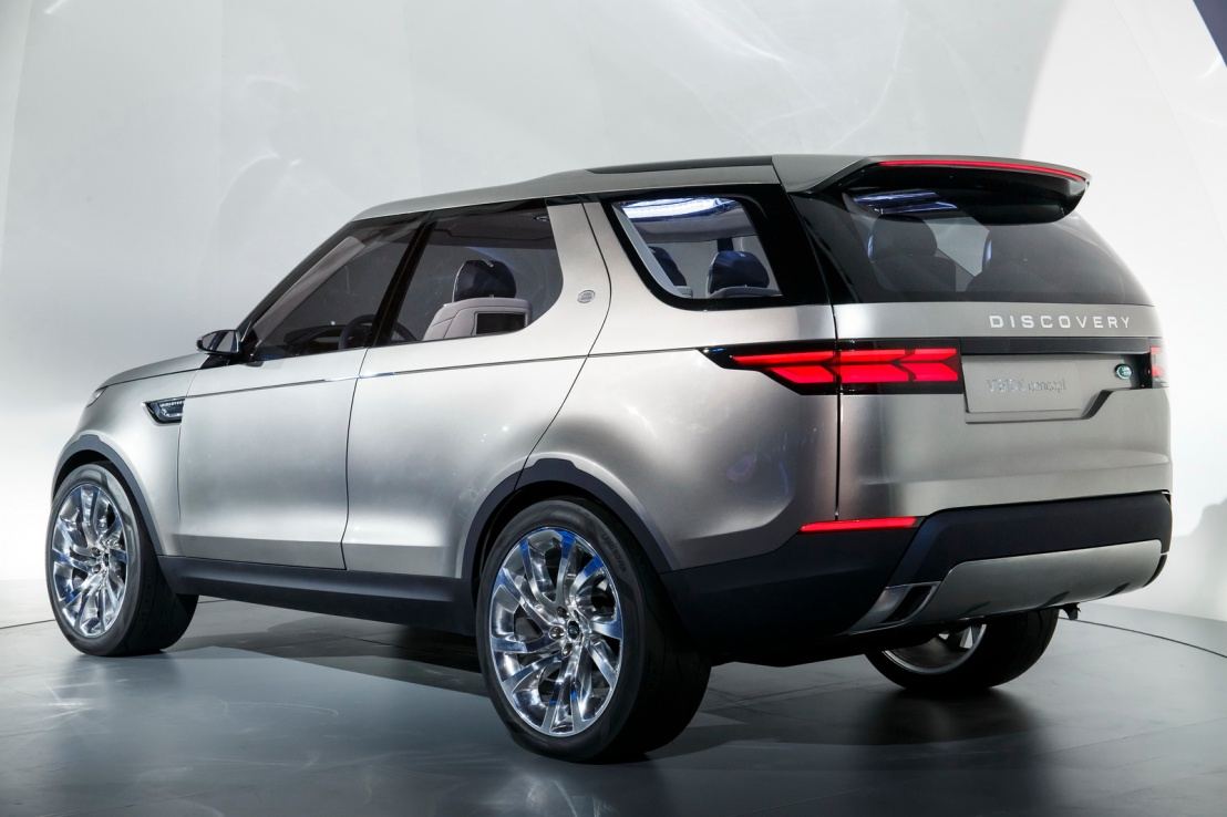 Land Rover Discovery Vision Arka