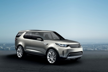 Konsept: Land Rover Discovery Vision