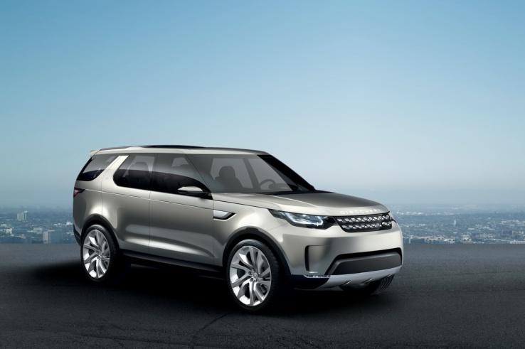 Land Rover Discovery Vision Ön