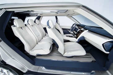 Land Rover Discovery Vision İç 2