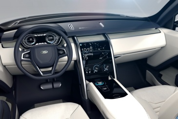 Land Rover Discovery Vision İç