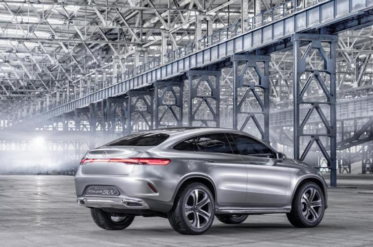 Mercedes-Benz Concept Coupé SUV Arka